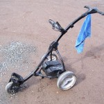 Motocaddy S3 - Aufgebaut