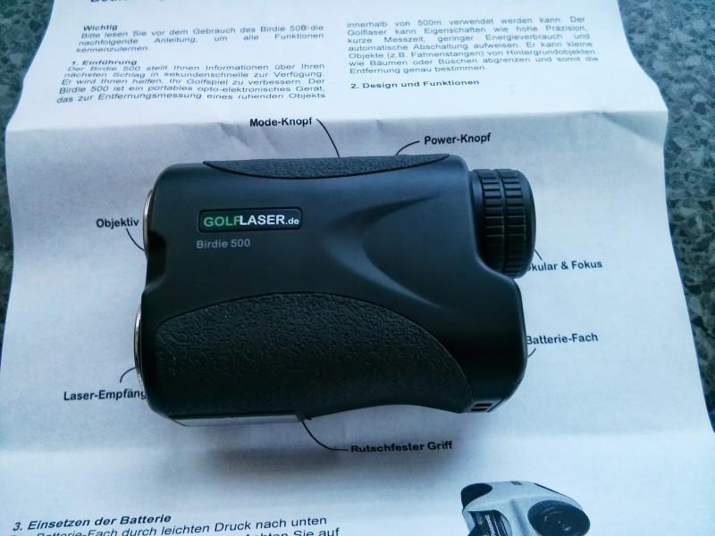 Golf Laser Entfernungsmesser Birdie 500 : Golflaser birdie white
