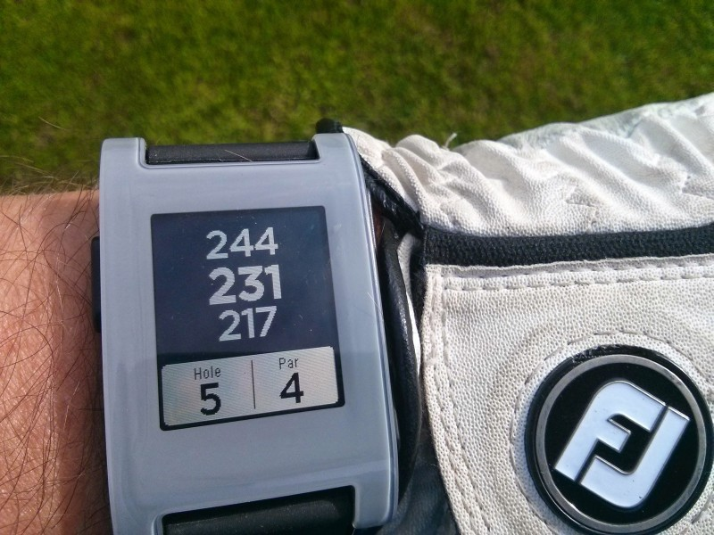 Golf Entfernungsmesser App Android : Pebble smartwatch als gps entfernungsmesser mein golf