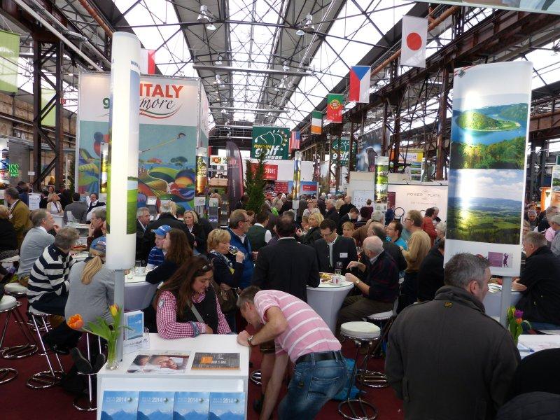 Reiseveranstalter prägen die Golfmesse