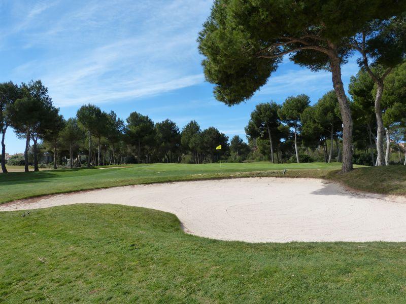 Golfplatz Maioris - Grün 1