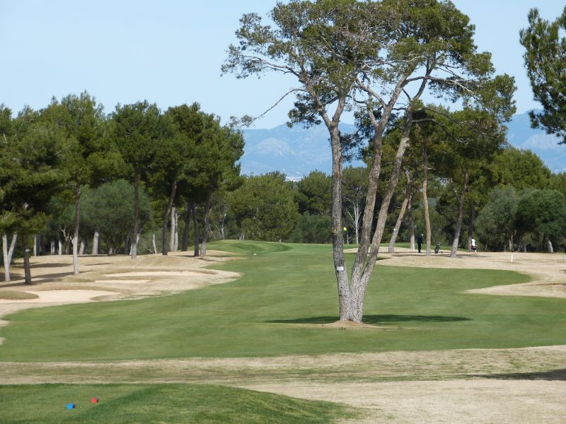 Golfplatz Maioris - Bahn 2