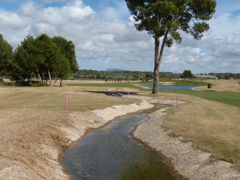 Golfplatz Maioris - Bahn 10