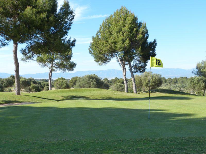 Golfplatz Maioris auf Mallorca - Grün 18