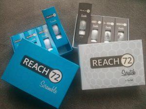 Meine Reach72 Testbälle