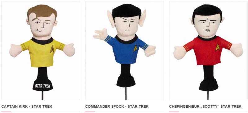Captain Kirk & Co. machen aus dem Bag ein Raumschiff