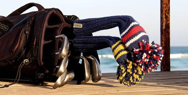Individuelle Schlägerhauben für eure Golfschläger von knitcap