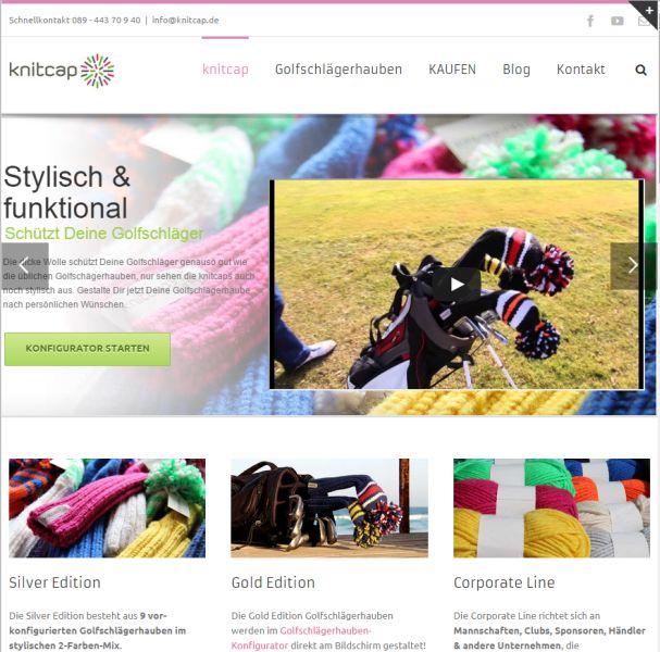 knitcap - Webseite