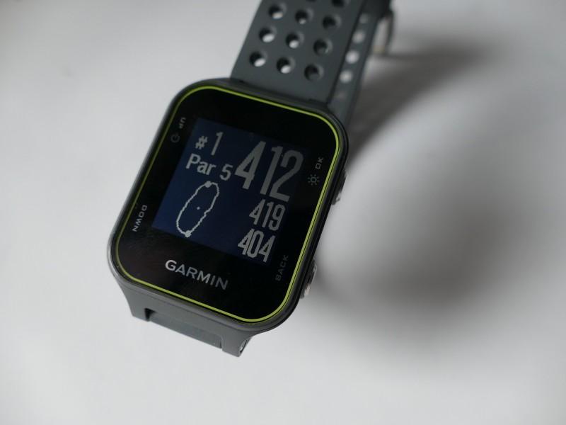 Garmiin Approach S20 - GPS Anzeige auf dem Golfplatz