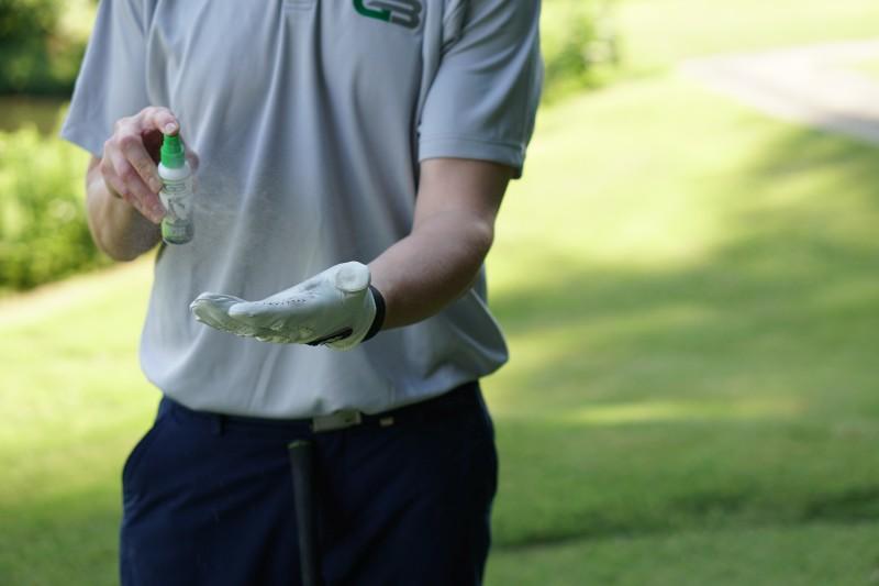 GripBoost Golf - Golfhandschuh besprühen für festen Griff