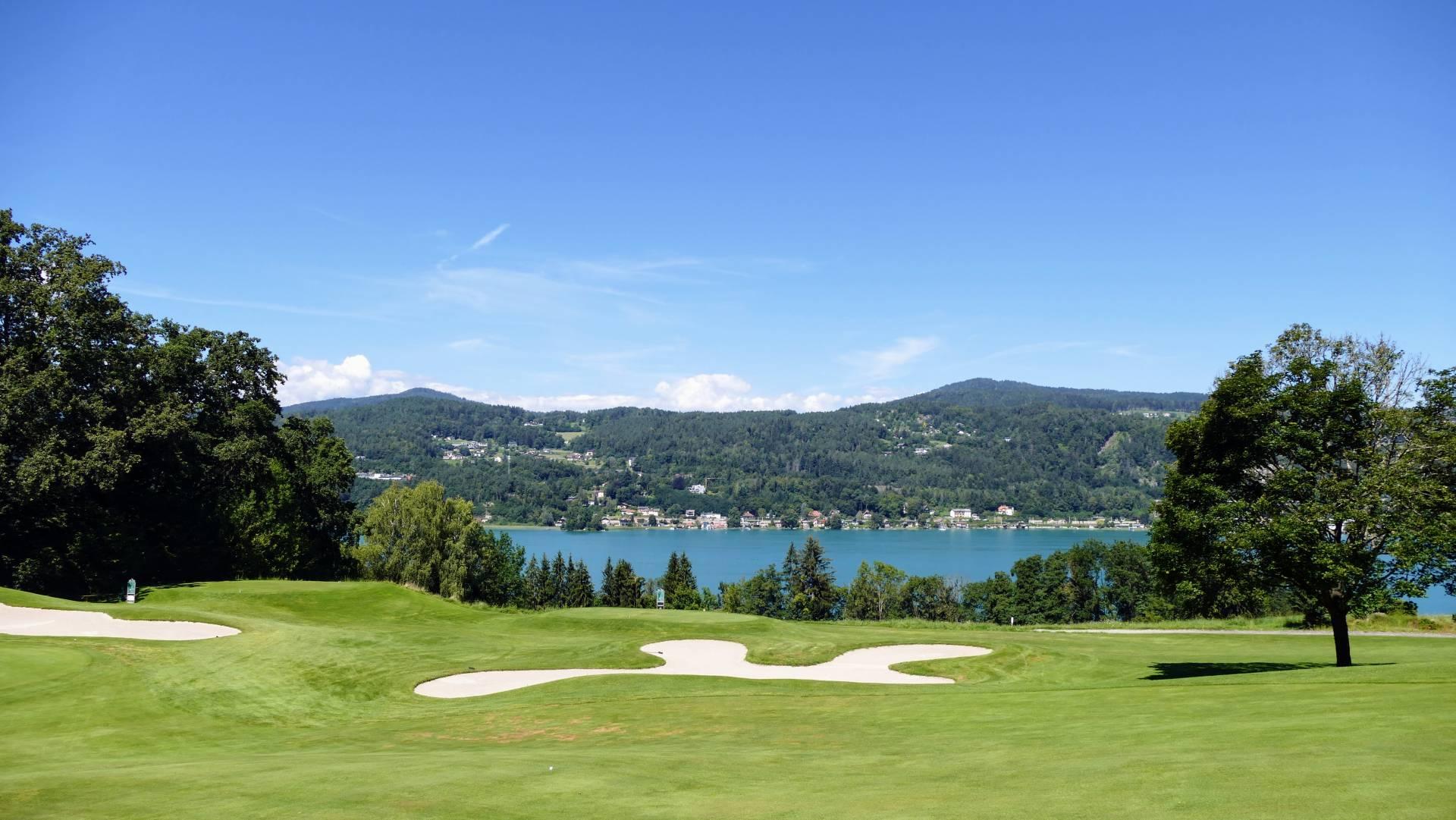 Golfclub Dellach - Blick auf den Wörthersee